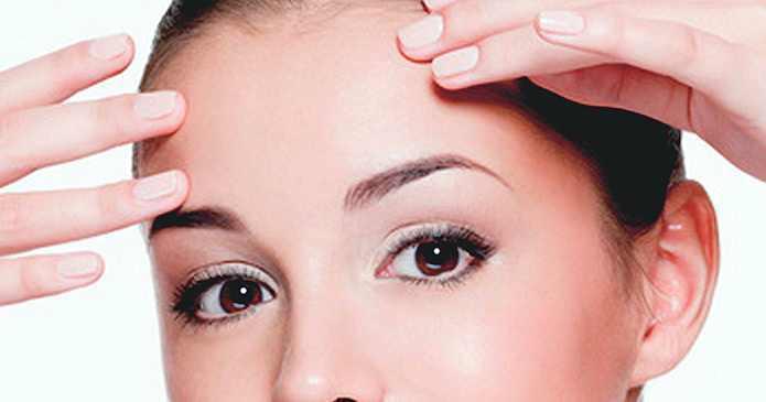 Augenbrauenlift, fadenlift, Lidstraffung ohne Op